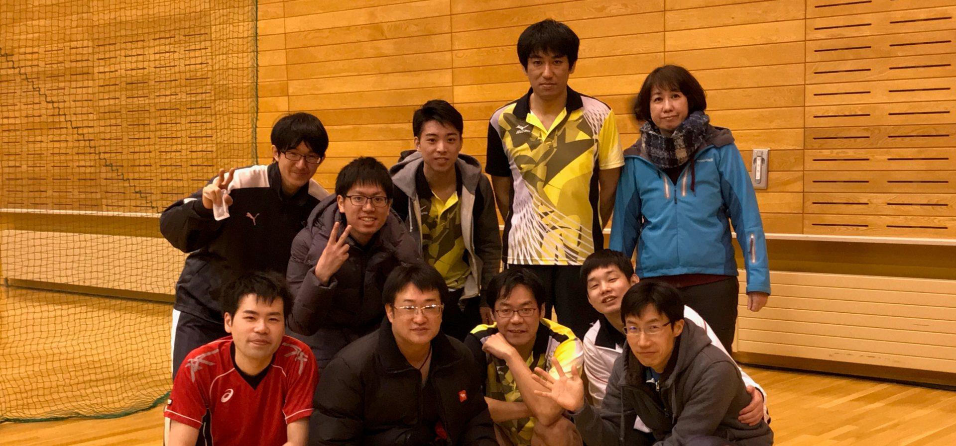 第199回 春光卓球大会(2019年7月28日)