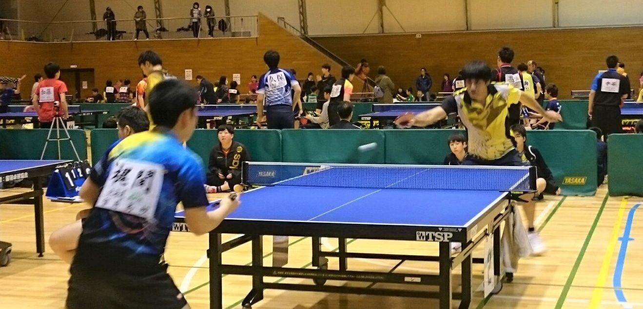 第197回 春光卓球大会(2019年2月11日)