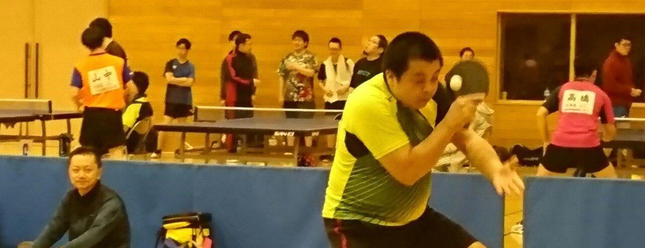 第191回 春光卓球大会(2017年12月24日)