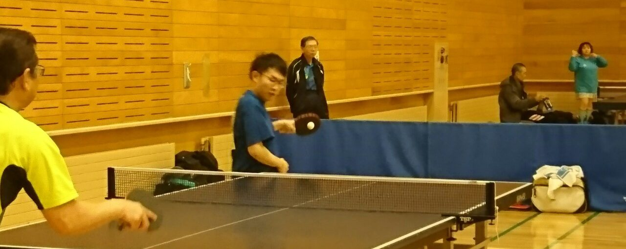第196回 春光卓球大会(2018年11月25日)
