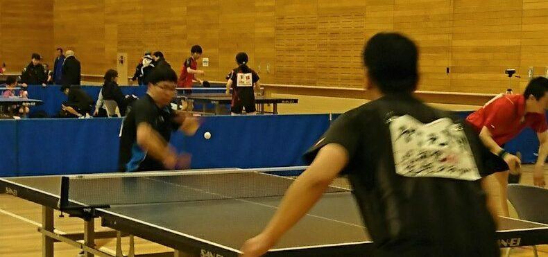 第192回 春光卓球大会(2018年2月12日)